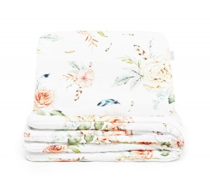 BAMBOO BEDDING VINTAGE Flowers 100x75/30x40
