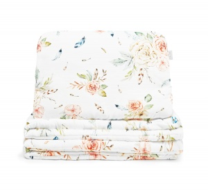 BAMBOO PILLOWCASES VINTAGE Flowers 120x145/40x60