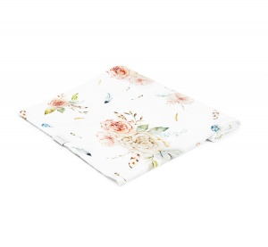 BAMBOO SWADDLE VINTAGE Flowers 120x120