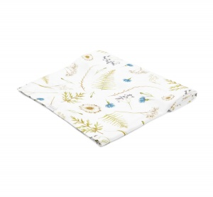 BAMBOO SWADDLE HERBAL 140x150