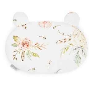 BAMBOO PILLOW BEAR VINTAGE Flowers