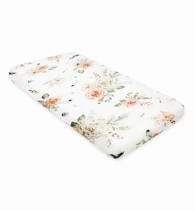 BAMBOO SHEET Vintage Flowers 120x60